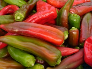 red and green peppers (C.Cancler)