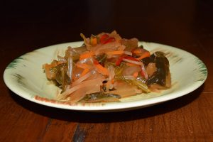 Spicy green kimchi photo copyright by Carole Cancler